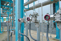 The SuperAce™ AT9000 Advanced Transmitter for pressure and differential pressure is used in the air separation process of gas production.