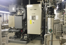 The museum installed high-efficiency heat source equipment and a PARAMETRIX(TM)4 digital controller to manage it. Thanks to optimal control of the equipment, energy consumption has been greatly reduced.