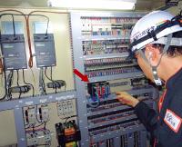 编制符合修订后的JIS标准的程序,进行燃烧安全控制的烧嘴控制器。