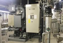 引进了高效率热源机和热源管理用数字控制器PARAMATRIX™4。试图通过最佳运转控制实现大幅节能。