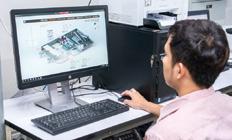 中央监控室内安装的savic-net G5的监控画面。图形化用户界面,使用方便,可快速访问想要了解的信息。