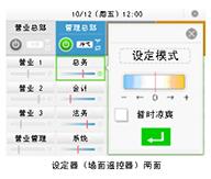 图3. 开放设定操作,赋予用户环境选择权,提高空调满意度