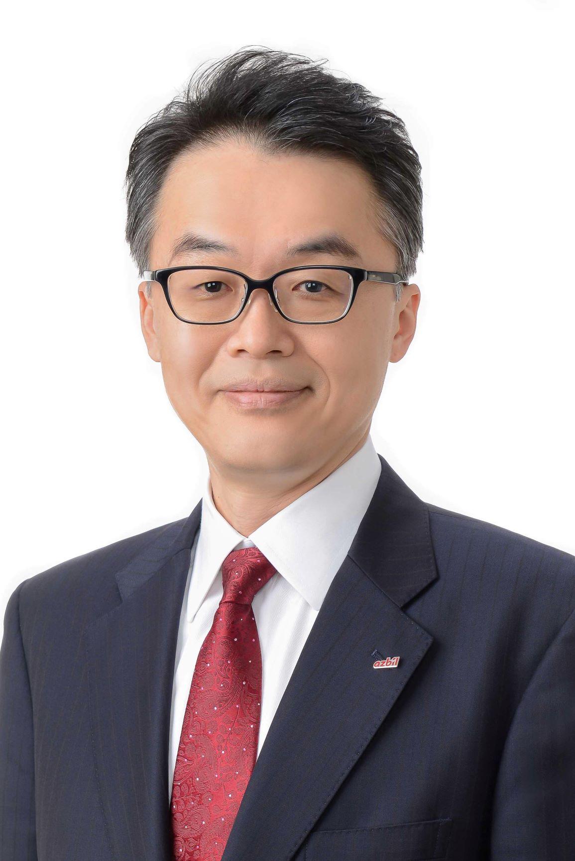 代表取缔役社长兼执行役员社长 山本清博