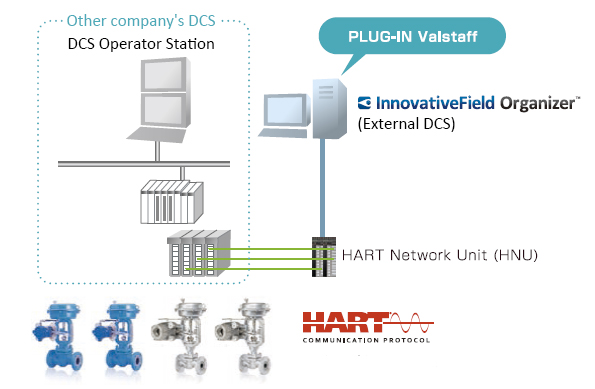 Figure 5. Example of PLUG-IN Valstaff system configuration