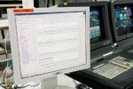 原動力監視室内U-OPTの計画と実績画面