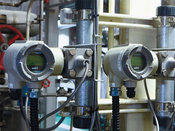 蒸気流量を計測する分離形のSTEAMcube