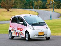 2009年10月より導入された電気自動車。