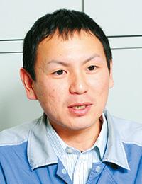 三洋化成工業株式会社 名古屋工場 工務部 主任 越智 昇氏