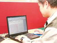 TSSサーバ/クライアントの導入により事務所のパソコンからHarmonasとPREXIONの画面を確認できるため、製造現場に赴くことなく炉内や製品の温度を随時監視できるようになっている。また、PREXIONの収集データを基に顧客へ提出する資料も作成される。