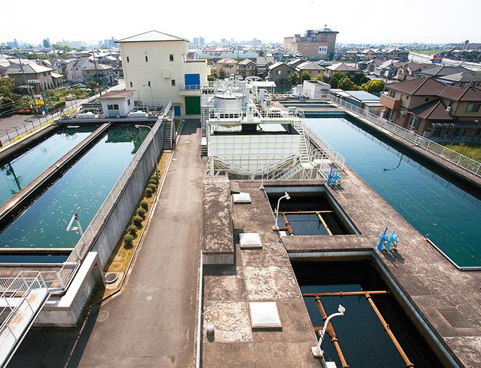 桜井市上下水道部 外山浄水場