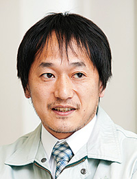 桜井市上下水道部 水道施設課 浄水係 主任 靍井(つるい) 康幸氏