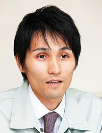 桜井市上下水道部 水道施設課 施設係 主任 中森 弘晃氏