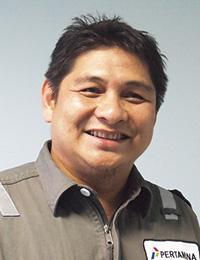 PT.PERTAMINA Project Engineering Deputy Section Head Erfan Gafar氏