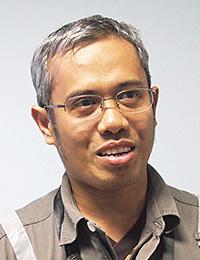 PT.PERTAMINA Paraxylene Section Head Ibnu Zaenal氏