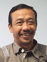 PT.PERTAMINA Paraxylene Deputy Section Head Imam Udiantoro氏