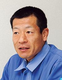 水島ガス株式会社 供給部 供給グループマネジャー 向井 源語 氏