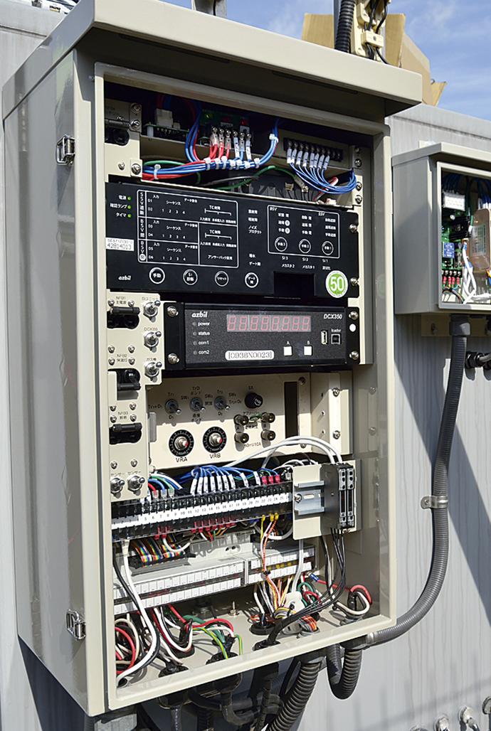 遮断/再開双方のバルブ制御を可能とする開閉制御ユニットSES71Z。