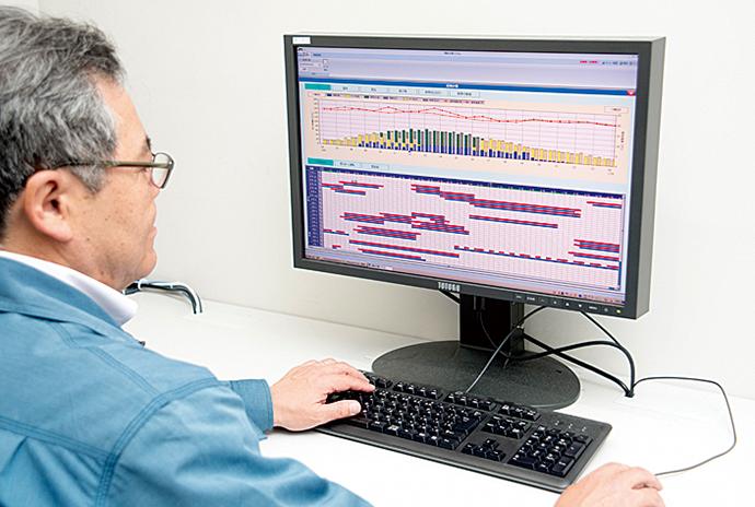 運転支援システムの画面は本社のオフィスでも閲覧できる。各部門や経営層がそれぞれの職掌の視点から運転状況の確認ができるようになっている。