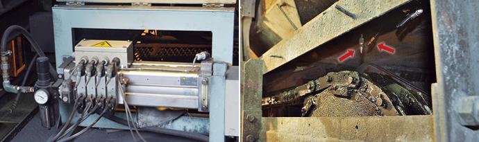 クボタが独自に開発したサンドレジン遠心力鋳造で製造された大口径ダクタイル管。