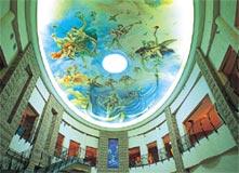 神話広場「大天井画」
