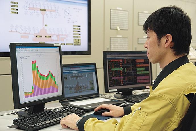 ターミナルビルのエネルギー消費実態の可視化には、savic-net FXのBEMS機能(savic-net FX BMS)を採用。このデータを活用し、一連の省エネ施策が実施されている。