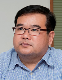 Amarin Ratchaprasong Co., Ltd 資産管理部 上級技術主任 Pisan Chinnawong 氏