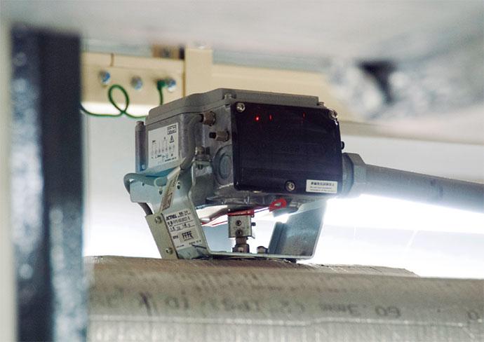 空調用冷水の流量を制御している流量計測制御機能付電動二方弁 ACTIVAL。
