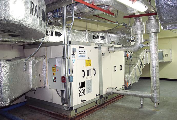 快適な環境を実現するための空調機の運転管理をsavic-net FXで行っている。