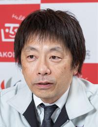 函館市病院局 管理部庶務課施設係 係長 上野 邦宏 氏