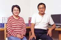 オーナーの溝口静子さんと 株式会社ホームズアソシエ代表取締役藤原力さん