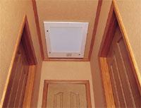 家中の空気を集める吸入口