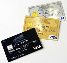 三井住友カードが展開するVISAカード