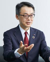 代表取締役社長兼執行役員社長 山本 清博