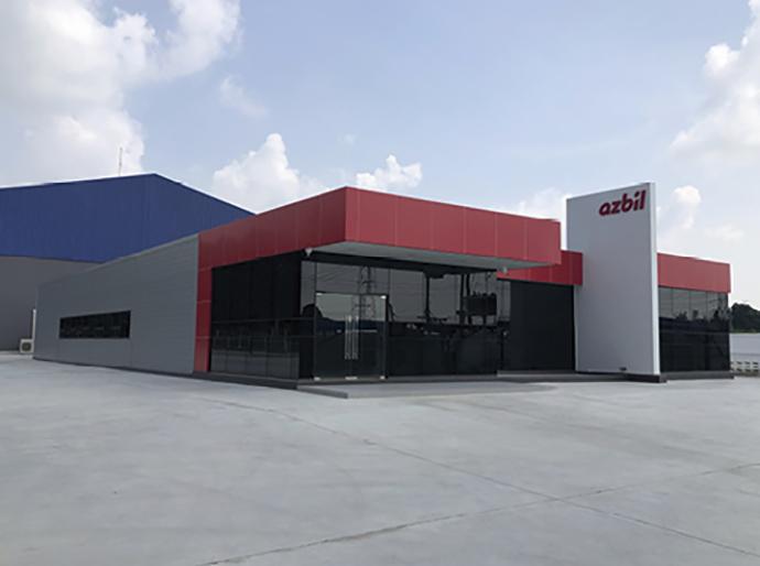 ラヨーン県に新設したソリューションアンドテクノロジーセンター。