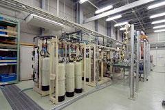 超純水実流試験装置