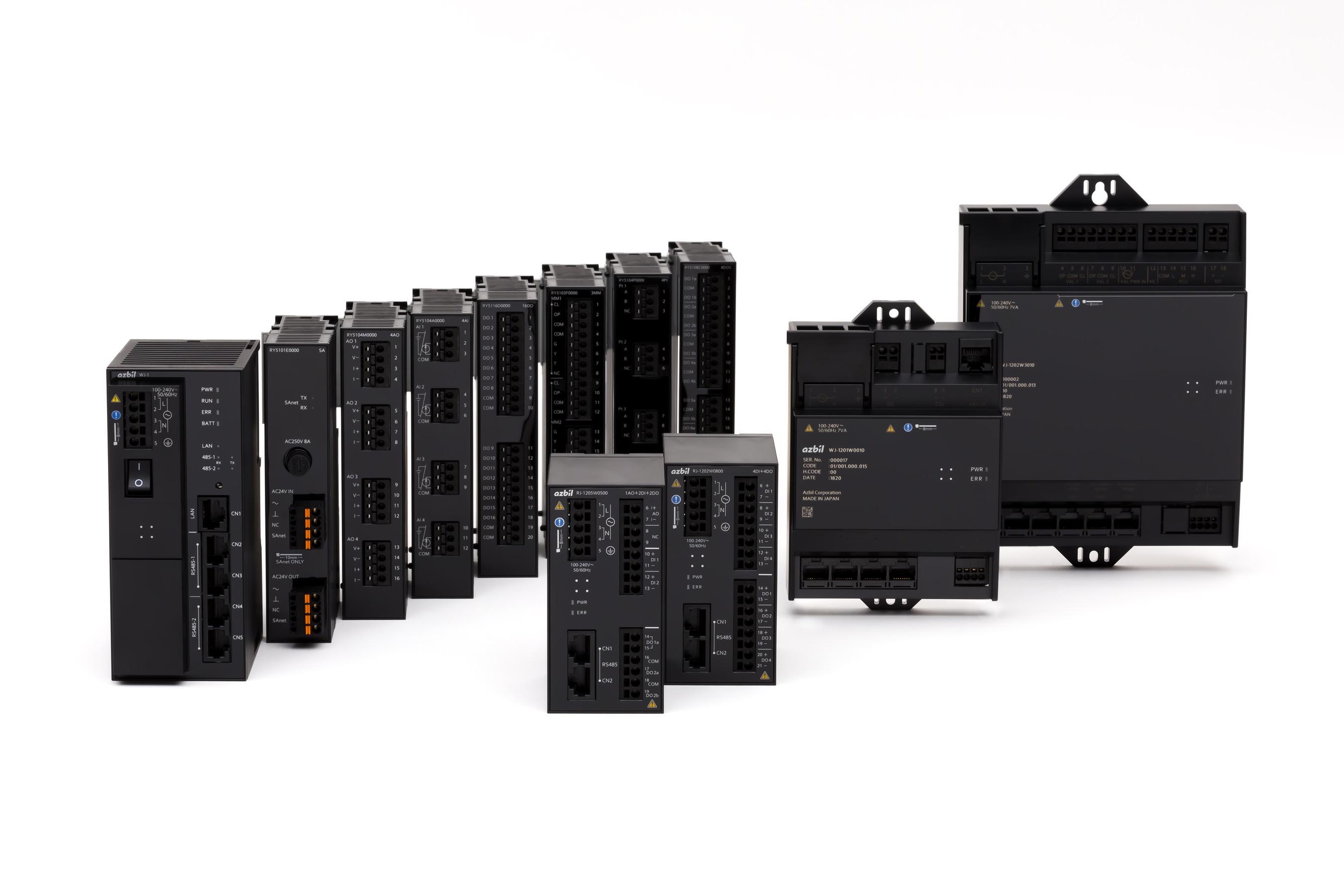 BAシステムsavic-netG5用<br /> コントローラ・ 入出力モジュール製品