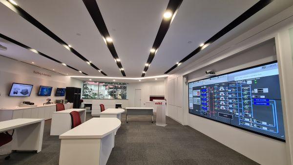 アズビルのシンガポールのショールーム
