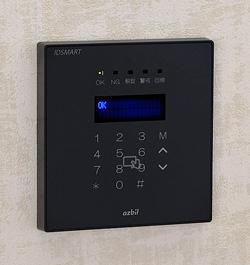 入退室管理システム IDSMART-II 黒の製品写真