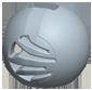 くし歯ボール(低騒音形状)
