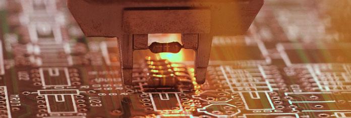 電気・電子部品産業のイメージ写真