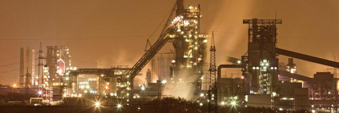 鉄鋼産業のイメージ写真