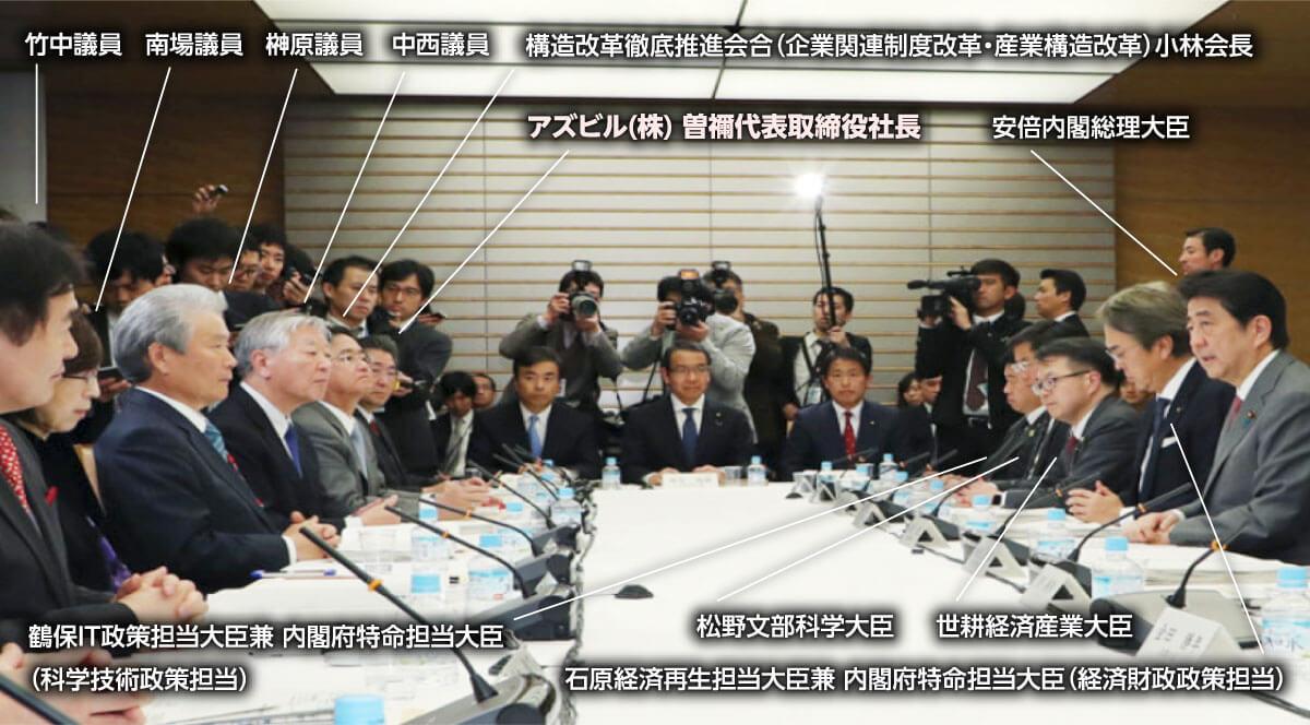 日本政府「第4回未来投資会議」