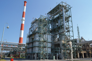 building photo : NS Styrene Monomer Co., Ltd. Oita Works
