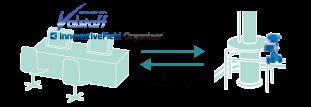 IFOによる検査イメージ 模擬信号