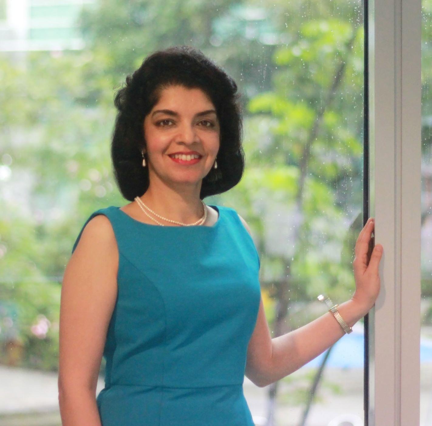 Anju Jaswal, head of Azbil's Strategic Planning & Development Office for Southeast Asia