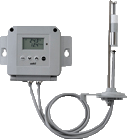 Durable Temperature and Humidity Sensor For the use in a chemical atmosphere