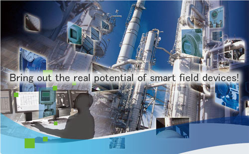 Bring out the real potential of smart field devices!