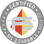 icon : IEC61508 functional safety SIL Certification