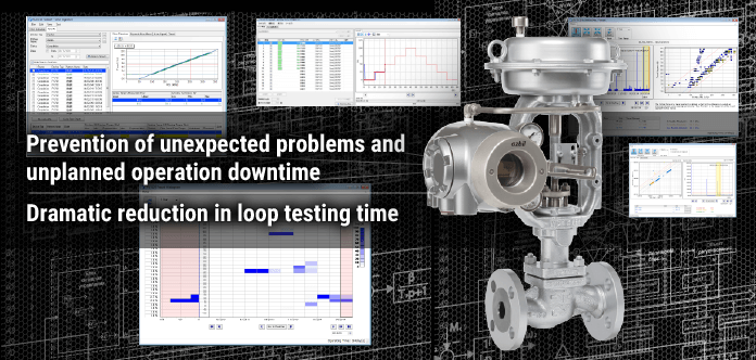 Prevention of unexpected problems and unplanned operation downtime. Dramatic reduction in loop testing time.