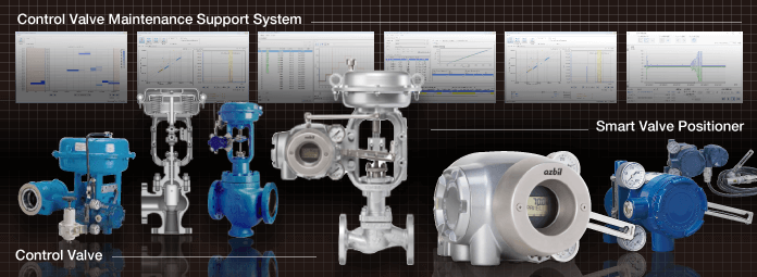 Product photo : Valve Solutions-lineup